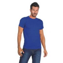 T-shirt BLU ROYAL - 100%...