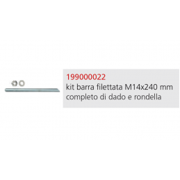 KIT BARRA FILETTATA M14 x...