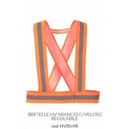 BRETELLE HV ARANCIO...