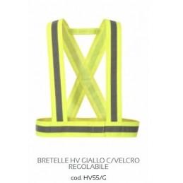 BRETELLE HV GIALLO C/VELCRO...