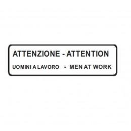 Segnale ATTENZIONE -...