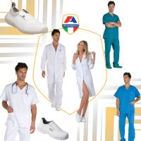 Abbigliamento: sanitario, ospedaliero, haccp, oss, alimentare, estetico