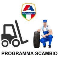 Servizio Programma Scambio Gomme Carrelli Elevatori