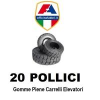 20 pollici - gomme piene carrello elevatore