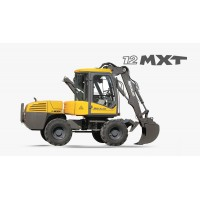 12 MXT - Escavatore Gommato Mecalac
