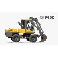 12 mx - escavatore gommato mecalac
