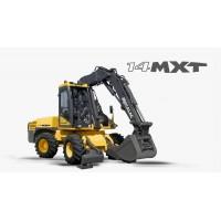 14 mxt - escavatore gommato mecalac