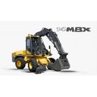 14 mbx - escavatore gommato mecalac