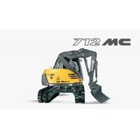 712 mc - escavatore mecalac
